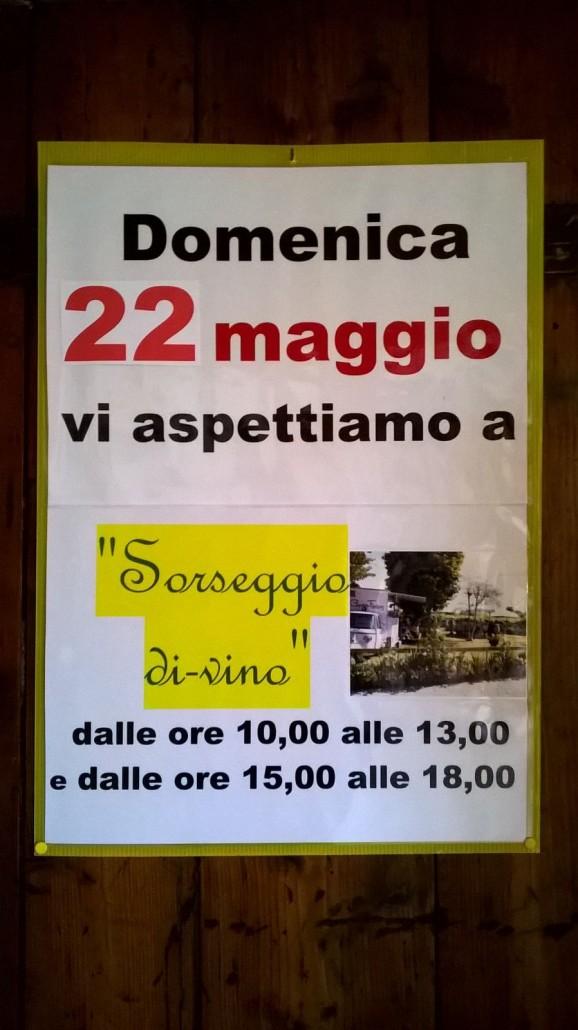Sorseggio di-vino Casa Angelo maggio 2016